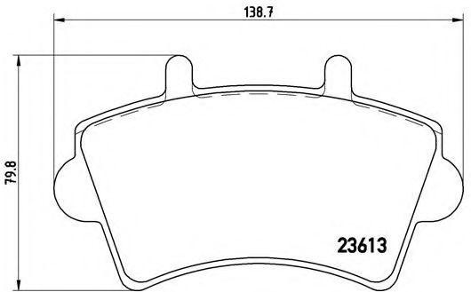 Купить Колодки тормозные BREMBO P59039