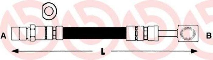 Шланг тормозной BREMBO T 59 009