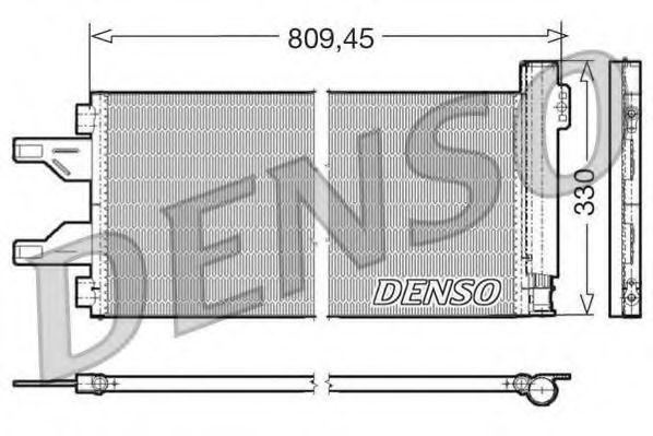 Радиатор кондиционера DENSO DCN07050
