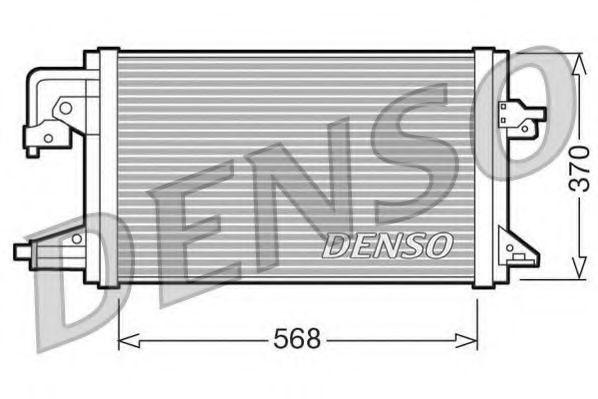 Конденсатор, кондиционер DENSO DCN10001