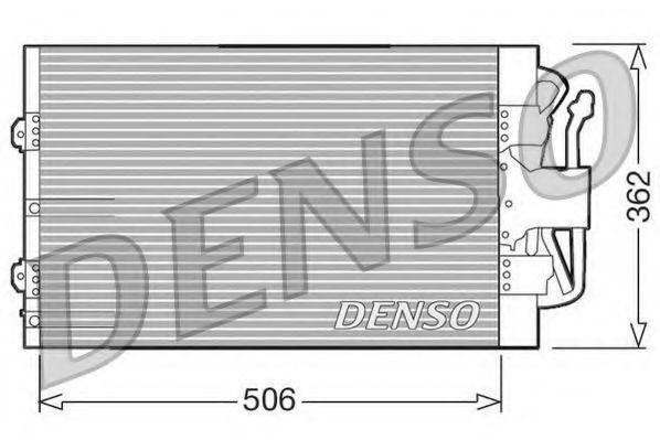 Радиатор кондиционера DENSO DCN10004