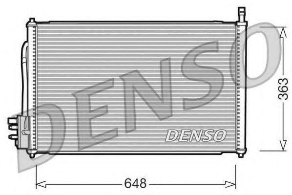 Радиатор кондиционера DENSO DCN10006
