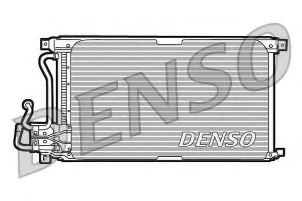 Радиатор кондиционера DENSO DCN10010