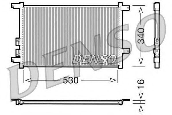 Радиатор кондиционера DENSO DCN01011