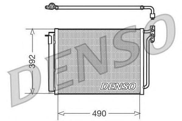 Радиатор кондиционера DENSO DCN05009
