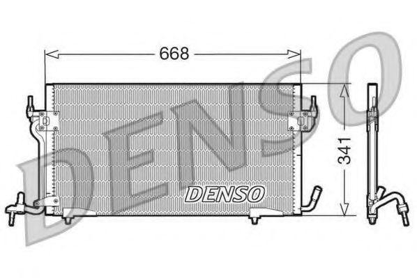 Конденсатор, кондиционер DENSO DCN07010