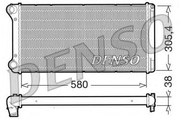 Радиатор охлаждения DENSO DRM0 9103