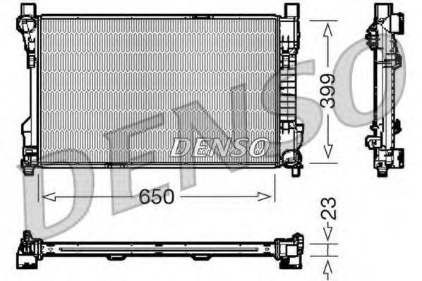 Радиатор охлаждения DENSO DRM17081