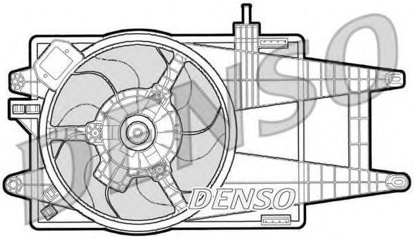 Вентилятор охлаждения двигателя DENSO DER09040