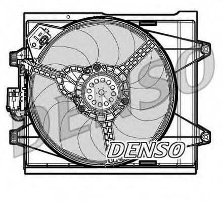 Вентилятор радиатора DENSO DER09048