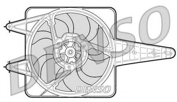 Вентилятор, охлаждение двигателя DENSO DER13203