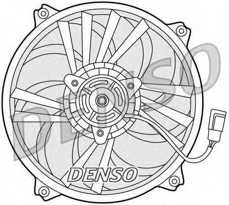 Вентилятор радиатора DENSO DER21015