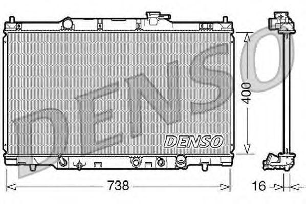 Радиатор охлаждения DENSO DRM40012