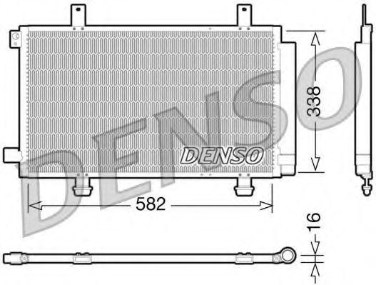 Конденсатор, кондиционер DENSO DCN47002
