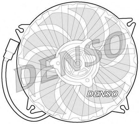 Вентилятор, охлаждение двигателя DENSO DER07007