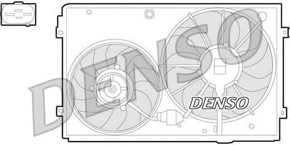 Вентилятор, охлаждение двигателя DENSO DER32011