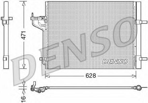 Радиатор кондиционера DENSO DCN10029