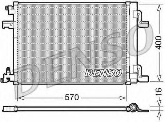 Конденсатор, кондиционер DENSO DCN20001