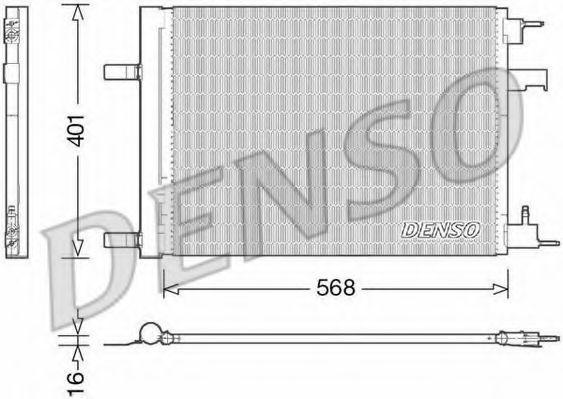 Конденсатор, кондиционер DENSO DCN20008