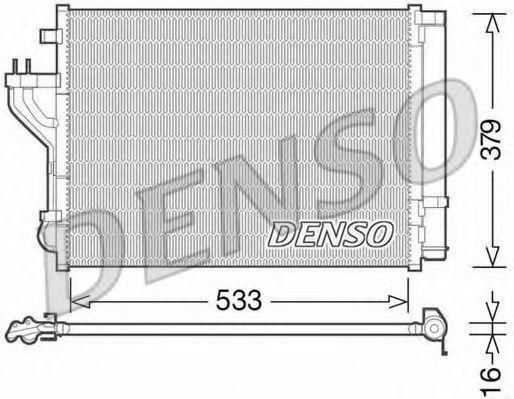 Конденсатор, кондиционер DENSO DCN41004