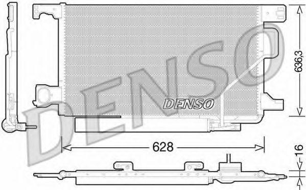 Конденсатор, кондиционер DENSO DCN17023