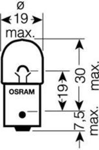Купить Автолампа RY10W OSRAM 5009