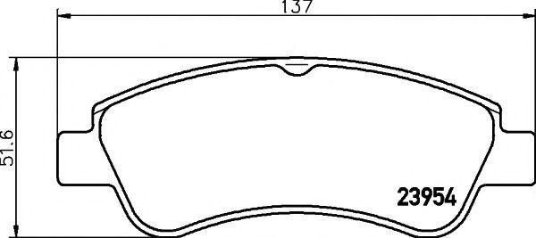 Колодки тормозные MINTEX MDB2283