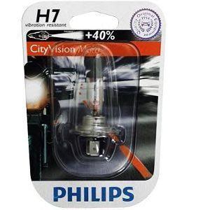 Купить Автолампа H7 CityVisionMoto PHILIPS 12972CTVBW