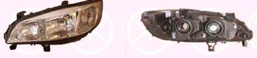 Фара левая KLOKKERHOLM 50620141