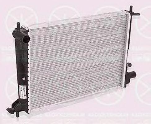 Радиатор, охлаждение двигателя KLOKKERHOLM 2563302219
