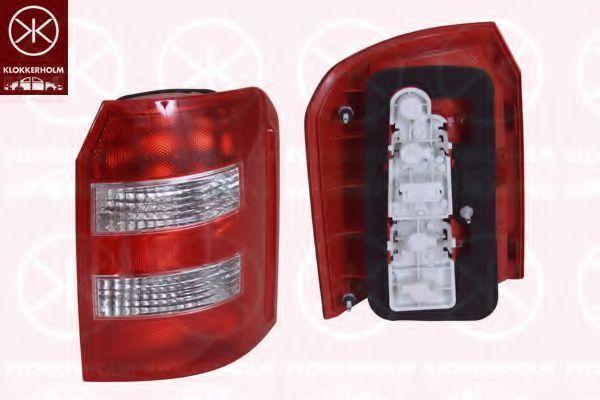 Задний фонарь KLOKKERHOLM 00060702A1