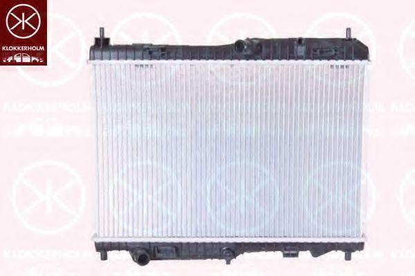 Радиатор, охлаждение двигателя KLOKKERHOLM 2565302442