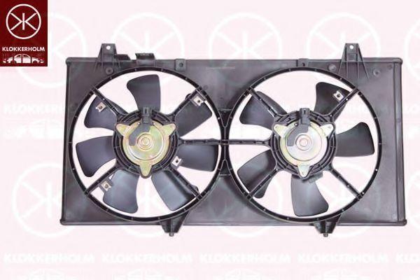 Вентилятор, охлаждение двигателя KLOKKERHOLM 3451307540