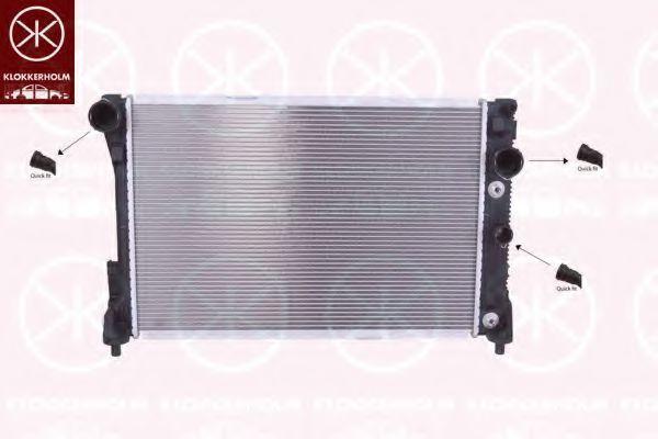Радиатор, охлаждение двигателя KLOKKERHOLM 3518302452