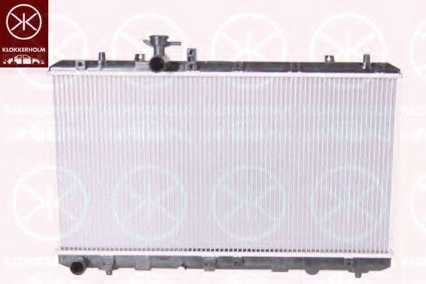 Радиатор, охлаждение двигателя KLOKKERHOLM 6835302084