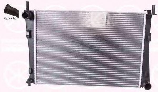 Радиатор, охлаждение двигателя KLOKKERHOLM 2565302440
