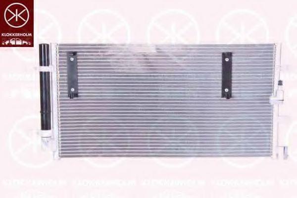 Конденсатор, кондиционер KLOKKERHOLM 0029305297