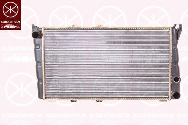 Радиатор, охлаждение двигателя KLOKKERHOLM 7511302001