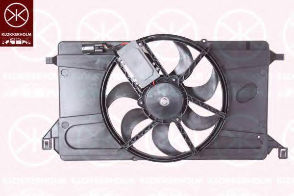 Вентилятор, охлаждение двигателя KLOKKERHOLM 34762602