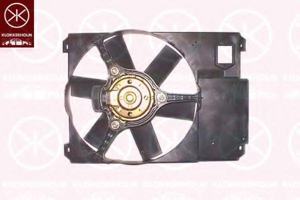 Вентилятор, охлаждение двигателя KLOKKERHOLM 20922601