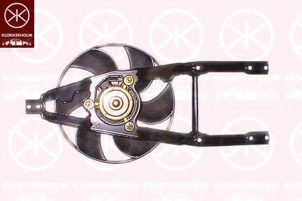 Вентилятор, охлаждение двигателя KLOKKERHOLM 20122601