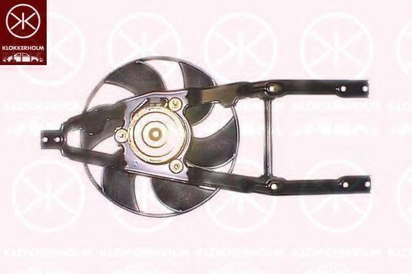 Вентилятор, охлаждение двигателя KLOKKERHOLM 20312603