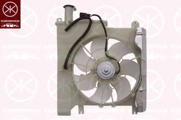 Вентилятор, охлаждение двигателя KLOKKERHOLM 5501307552