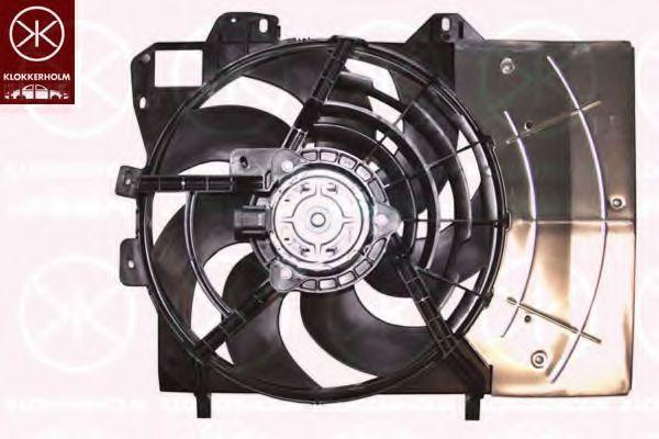 Вентилятор, охлаждение двигателя KLOKKERHOLM 5508307539