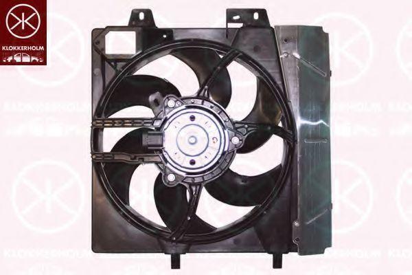 Вентилятор, охлаждение двигателя KLOKKERHOLM 55082602