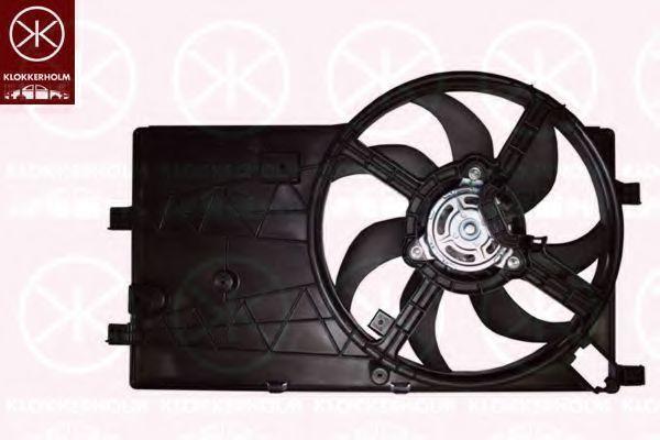 Вентилятор, охлаждение двигателя KLOKKERHOLM 55532601