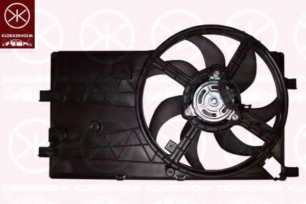 Вентилятор, охлаждение двигателя KLOKKERHOLM 55532602