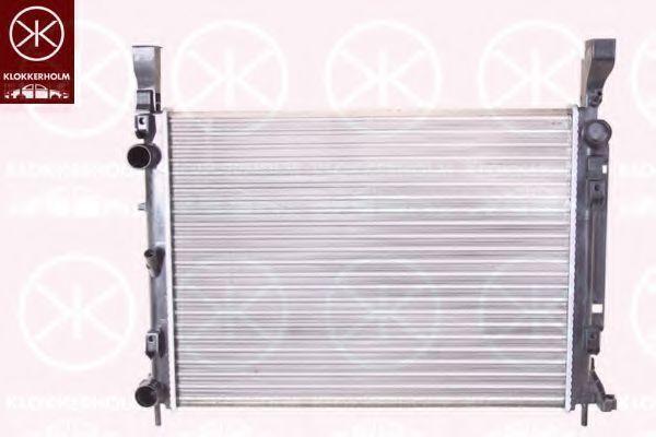 Радиатор, охлаждение двигателя KLOKKERHOLM 6011302469