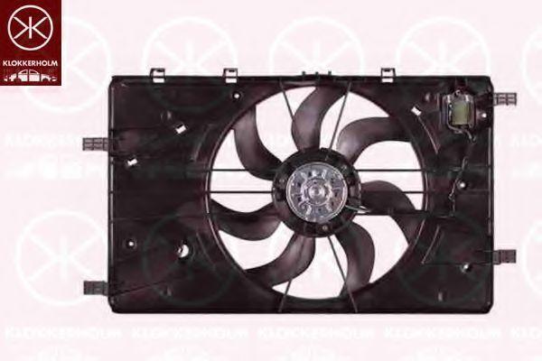 Вентилятор, охлаждение двигателя KLOKKERHOLM 11332601