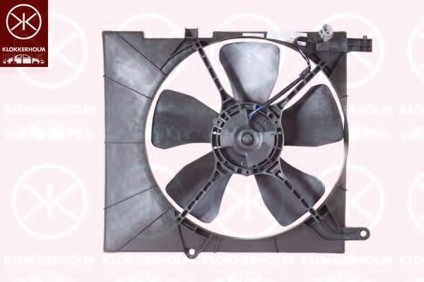 Вентилятор, охлаждение двигателя KLOKKERHOLM 11192601